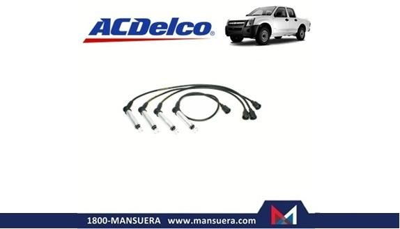 CABLES BUJIAS ACDELCO CHEVROLET DMAX 2.4