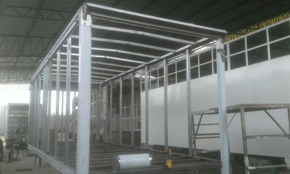 Fabricasion de Furgon en Acero Hino Citi