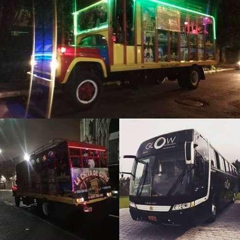Bus Discoteca Glow Y La Chiva De Quito