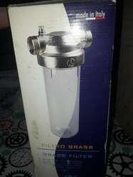 filtro de agua nuevo sin uso