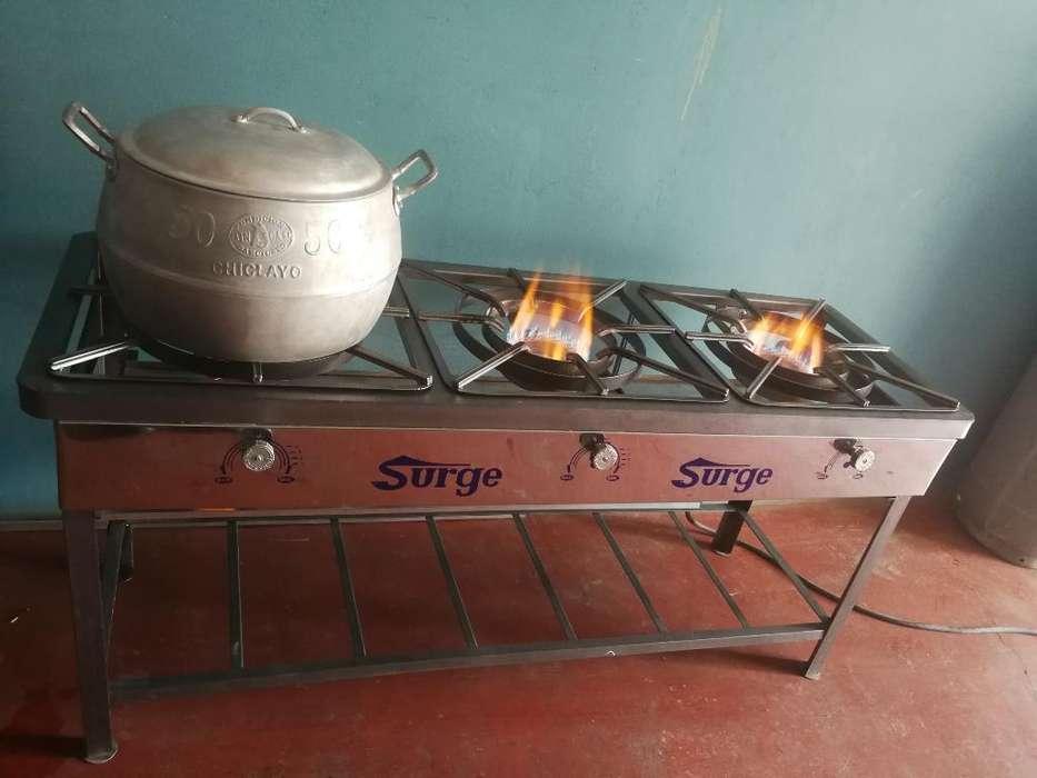 Se Vende Cocina Semi Industrial
