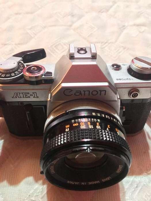 Camara Canon AE1