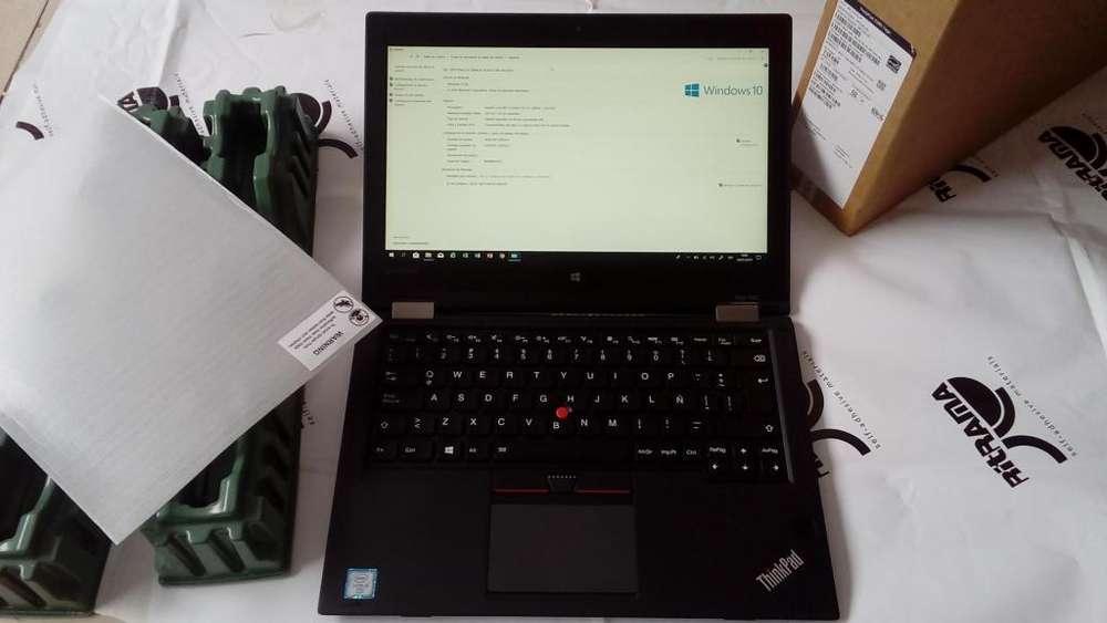 Lenovo Thinkpad Yoga 260, serie empresaria de alta gama, i5 de 6ta. generación