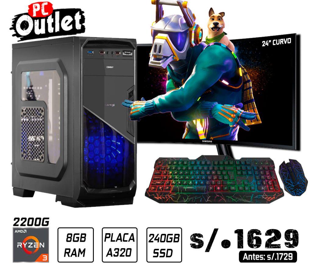 PC GAMING RYZEN 3 2200G 3.5GHz 1629