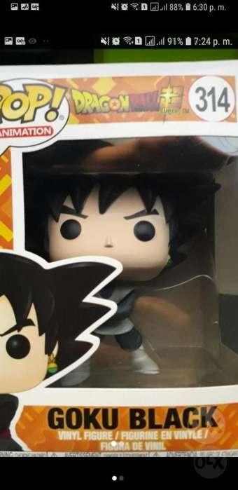 Funko Pop Original de Black Goku