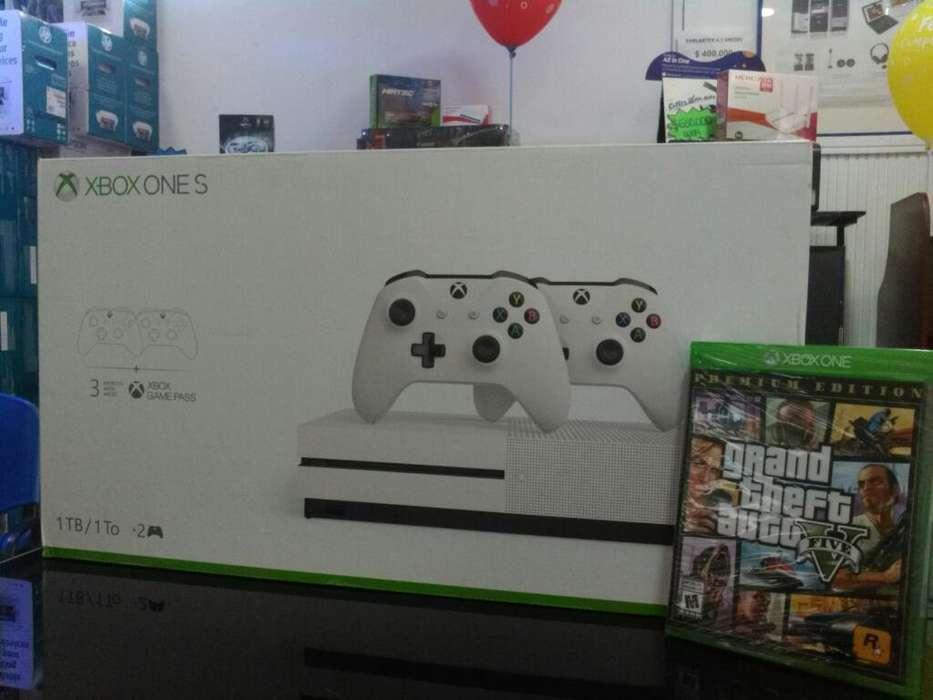 Xbox One S 2 Controles-juego Gta V