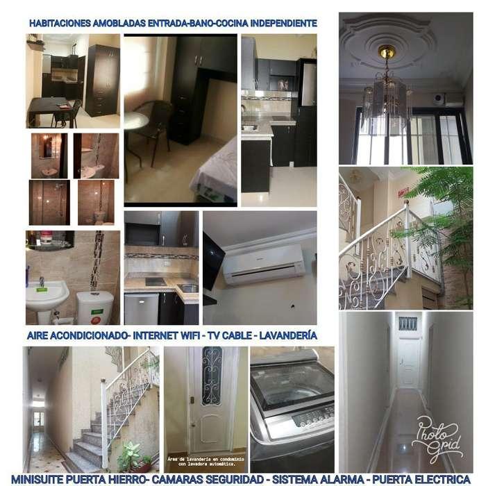 Alquiler de Suites Amobladas en Zona Centro, Cerca Universidad de Guayaquil
