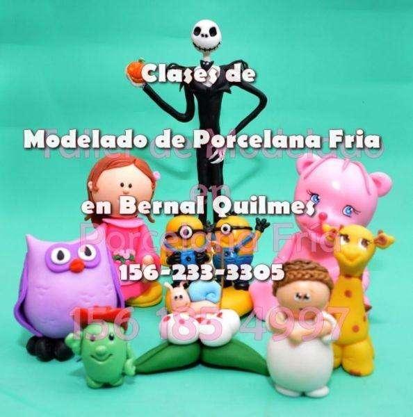 curso clases de modelado de porcelana fria en Bernal Quilmes 1562333305