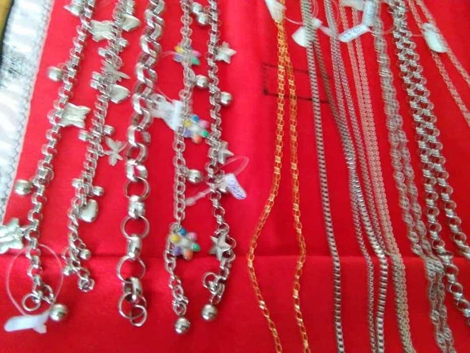 venta de joyas Mabymor. de acero . enchapadas ,y <strong>plata</strong>