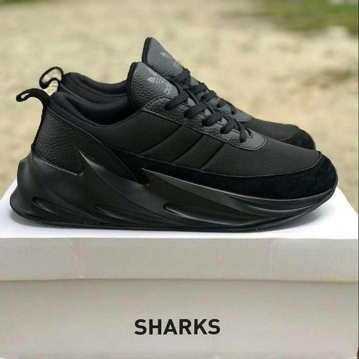 Zapatos Adidas Shark Negros Entero