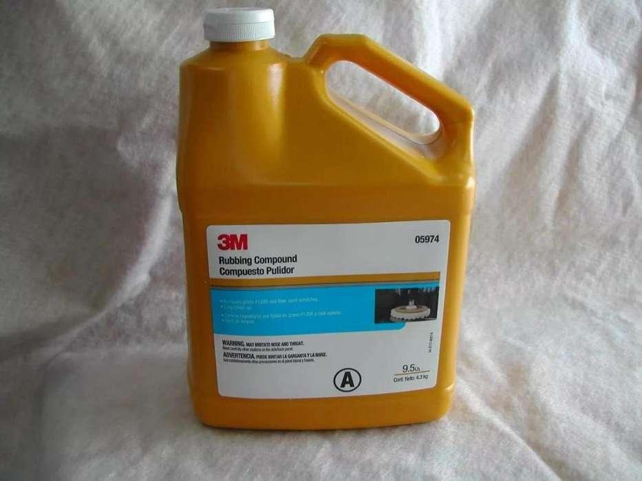 3m Rubbing Compound Pn 05974 Compuesto Pulidor X 4,3 Kgs