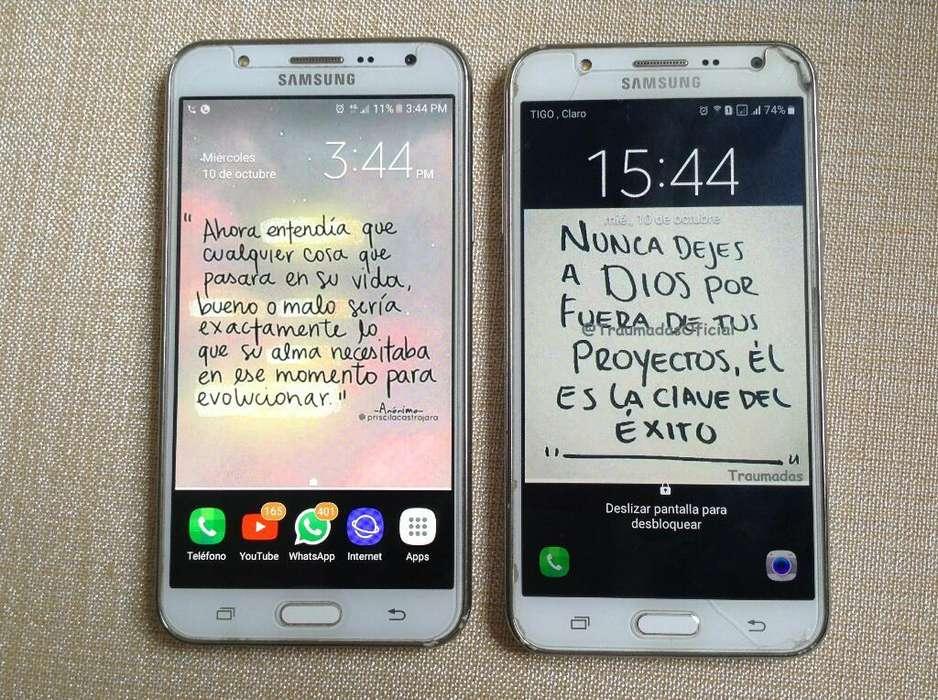 Dos Samsung J7 Venta