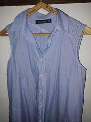 Camisa Mujer sin Mangas. Talle M