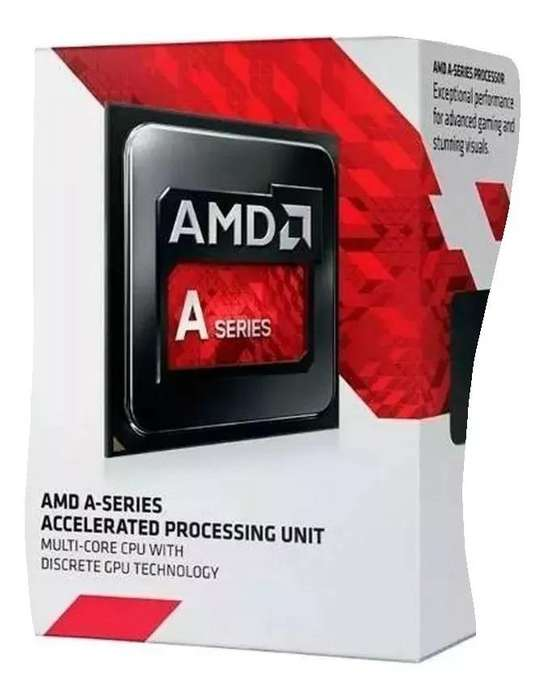 Procesador Amd Apu A8-7680 4mb 3.5ghz Fm2 Ad7680acabbox