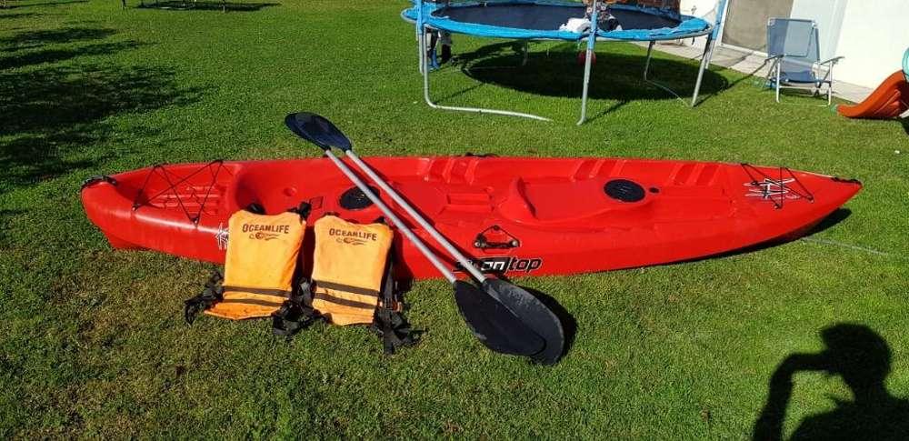 Vendo Kayak Sit On Top 2 Remos 2 Salva