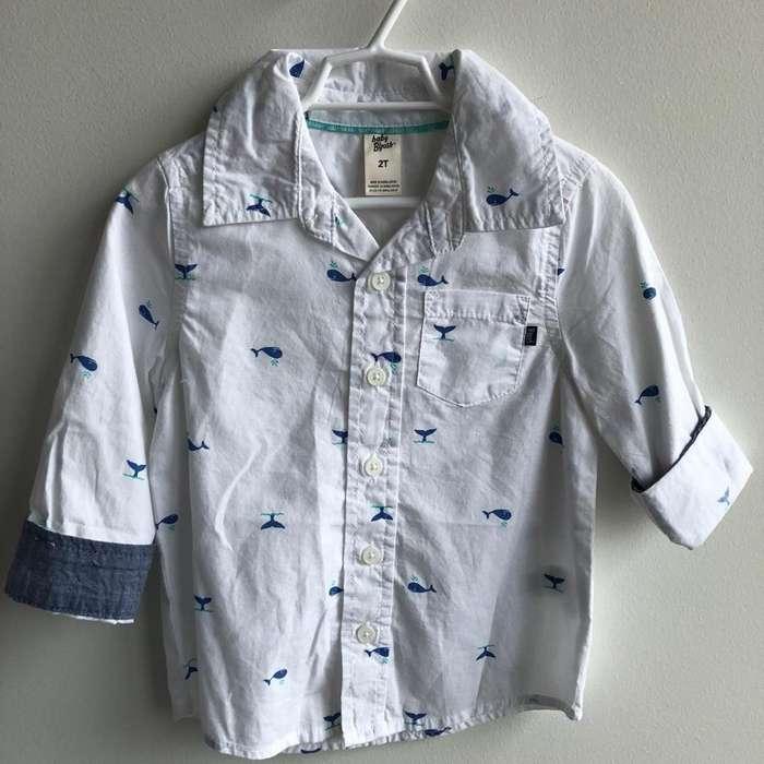 Camisa de Niño Talla 2t Oshkosh