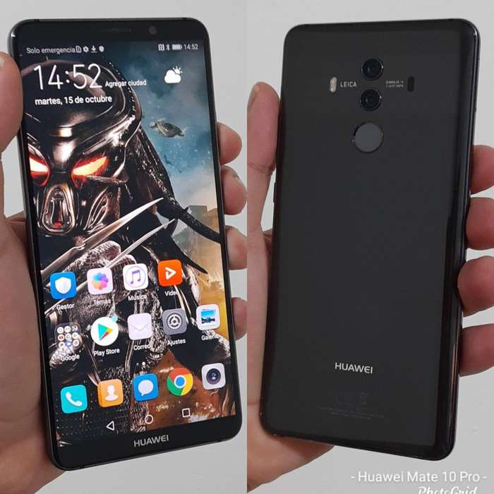 Huawei Mate 10 Pro 6ram 128gb Impecable
