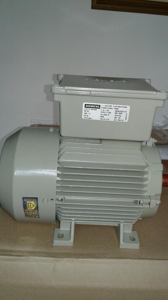 Se Vende Motor Siemens