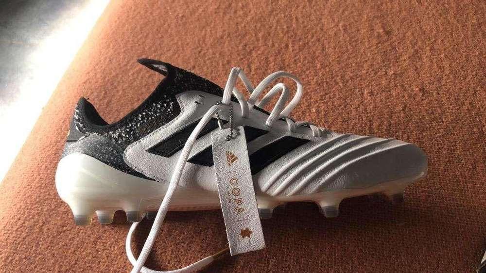 Botines Adidas Copa Prof. Talle 43,5.