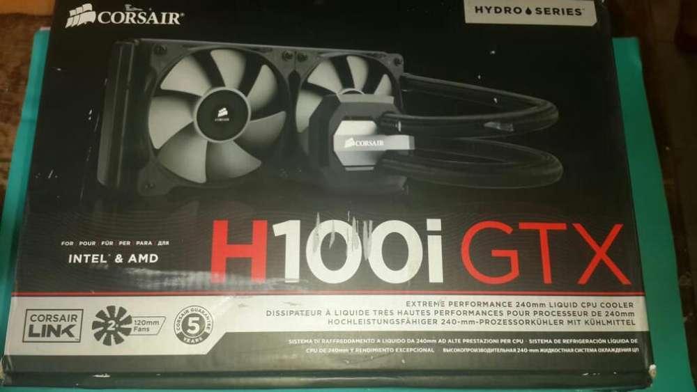 Refrigeración Líquida Corsair H100i Gtx