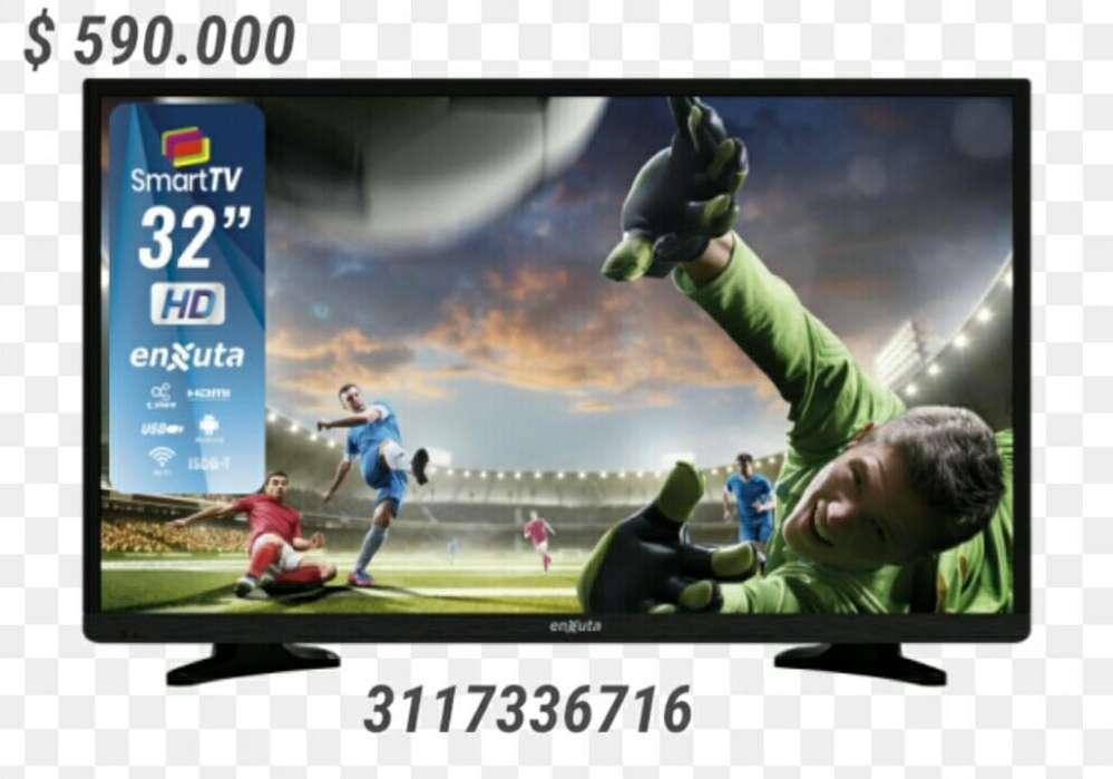 Smart Tv de 32 Nuevo Garantía