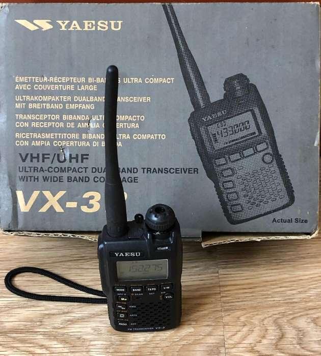 Radio Telefono Yaesu Vx-3R Vhf/Uhf