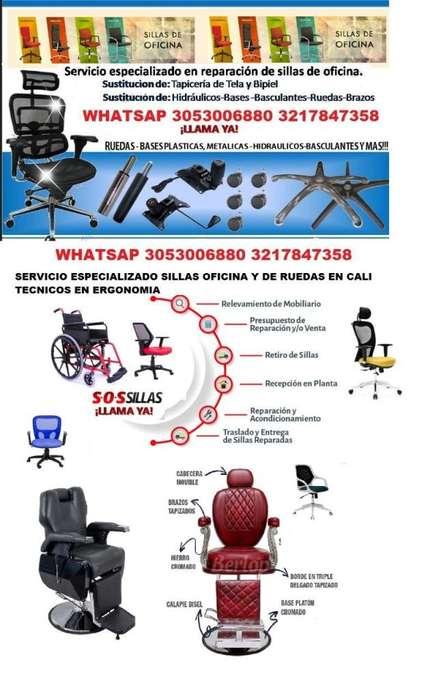 repacion de sillas oficina