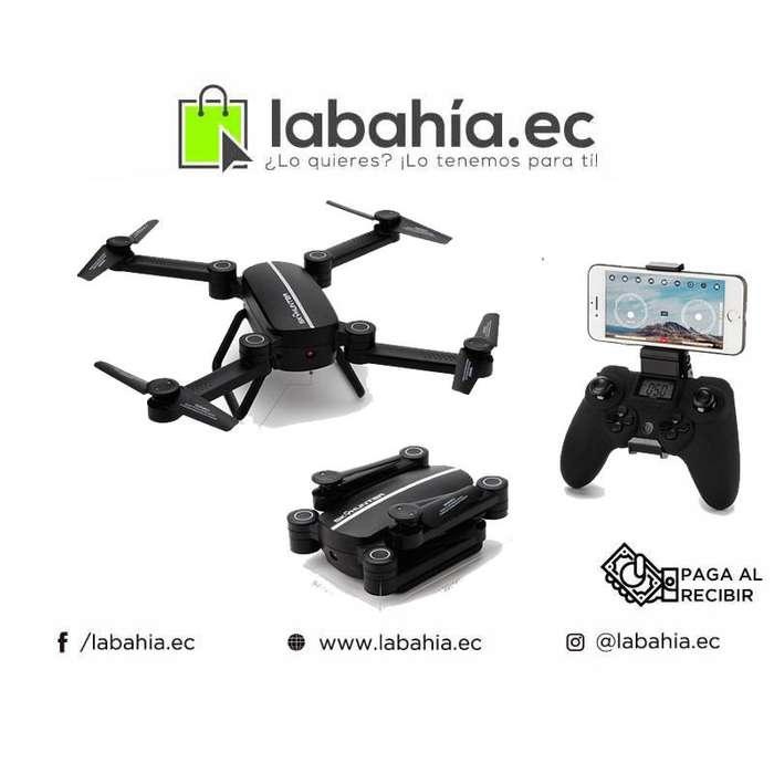 Mini Drone Skyhynter Retractil con Camara HD y vista desde Celular