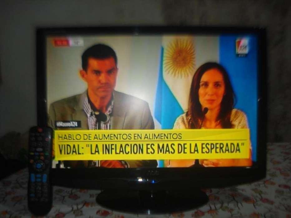 <strong>televisor</strong> Lcd 22 Aoc C/ctrl Rem Hdmi Muy Buena Imagen!!