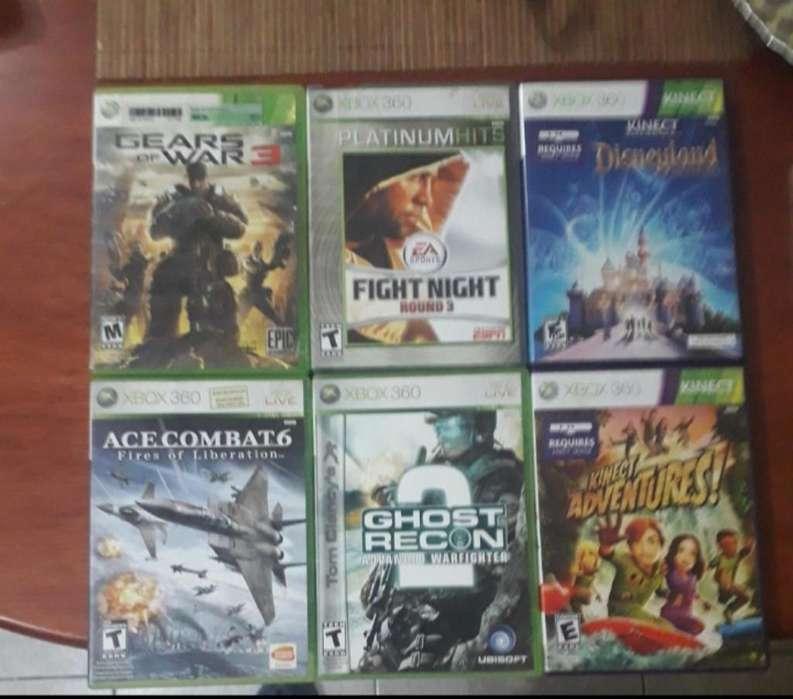 Vendo Juegos de Xbox360 Calidad Aceptabl