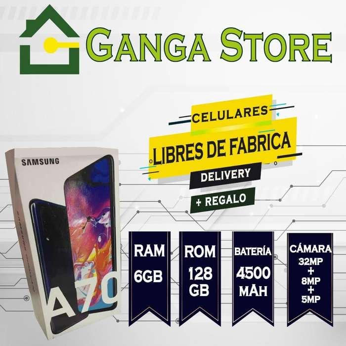 Samsung A70 Cámara Triple (32mp8mp5mp)