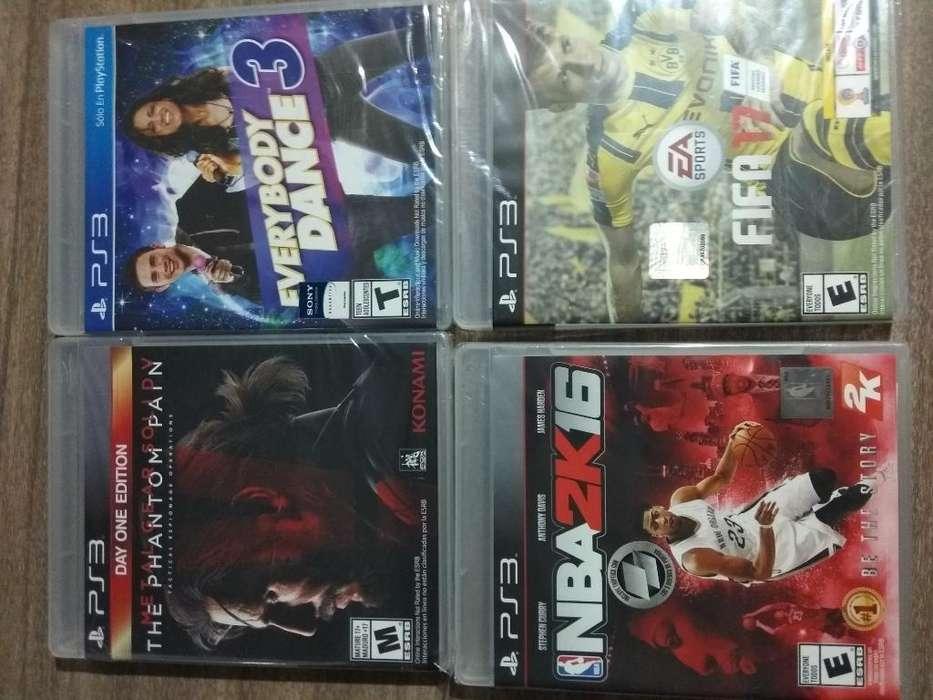 Juegos de Play 3 Y X Box. Nuevos Origina