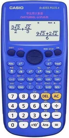 <strong>calculadora</strong> CIENTIFICA FX 82LA PLUS PINK/BLUE