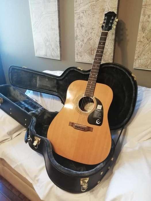 Vendo Guitarra Epiphone Dr 100 Y Case