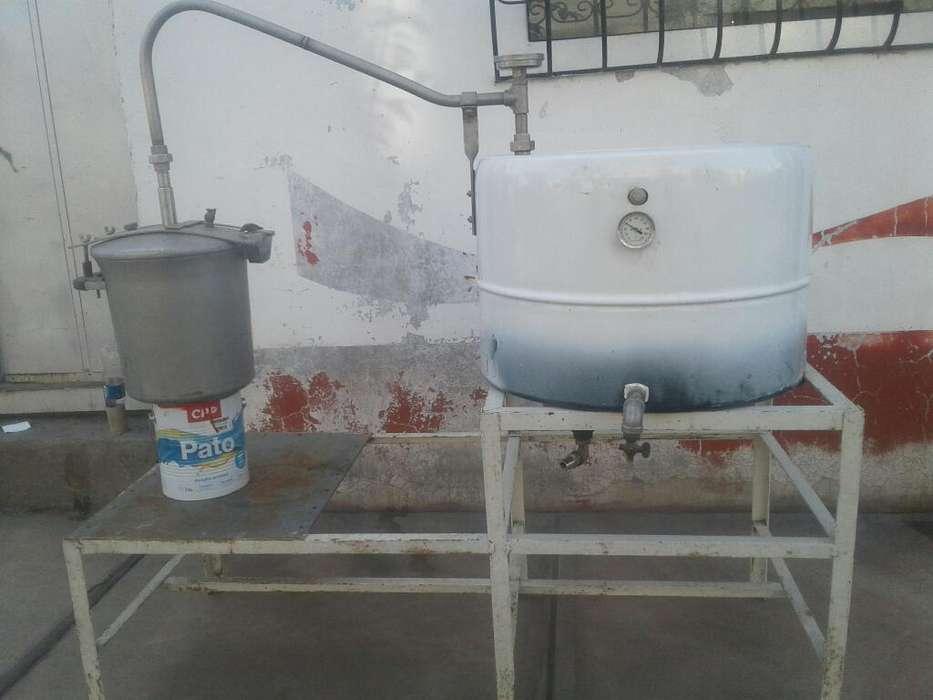 Alambique Equipo de Destilación