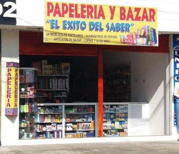 OFERTA¡¡ SE VENDE NEGOCIO BAZAR Y PAPELERÍA