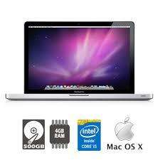EQUIPOS MACBOOK PRO CORE I5, PANTALLA 13, 500, 4 RAM