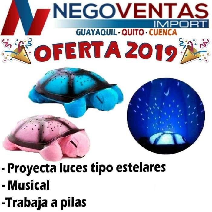 TORTUGA MUSICAL LED DE OFERTA