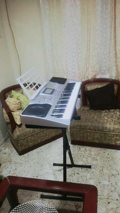 Teclado Musical 5 Octavas Y Soporte