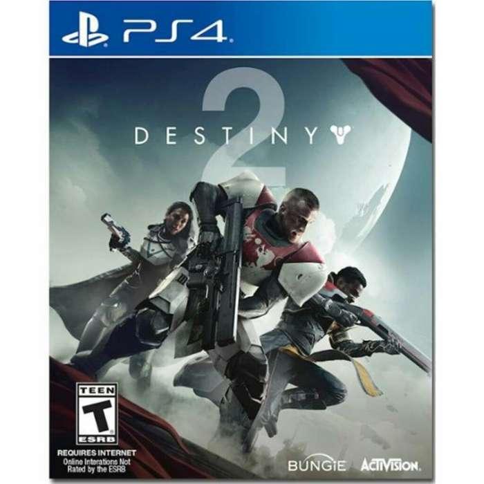 Juego Ps4 Destiny 2 Nuevo Remate