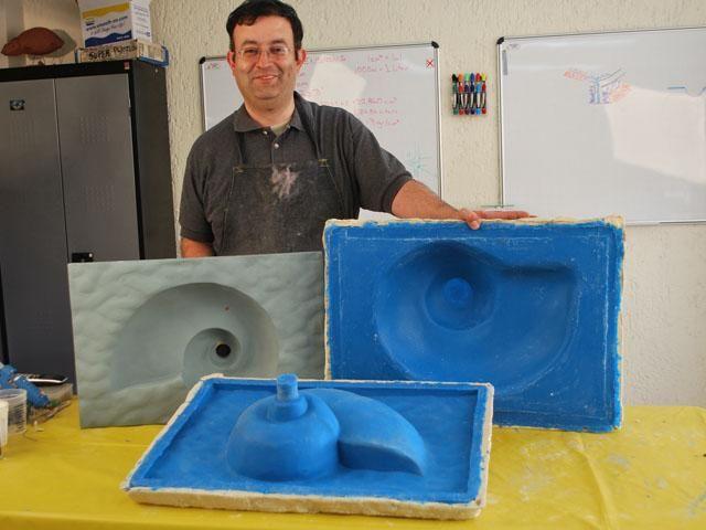 Caucho Silicona Mold Star 30 Liquido Moldes X225g Lavavos Lavamanos Estatuas
