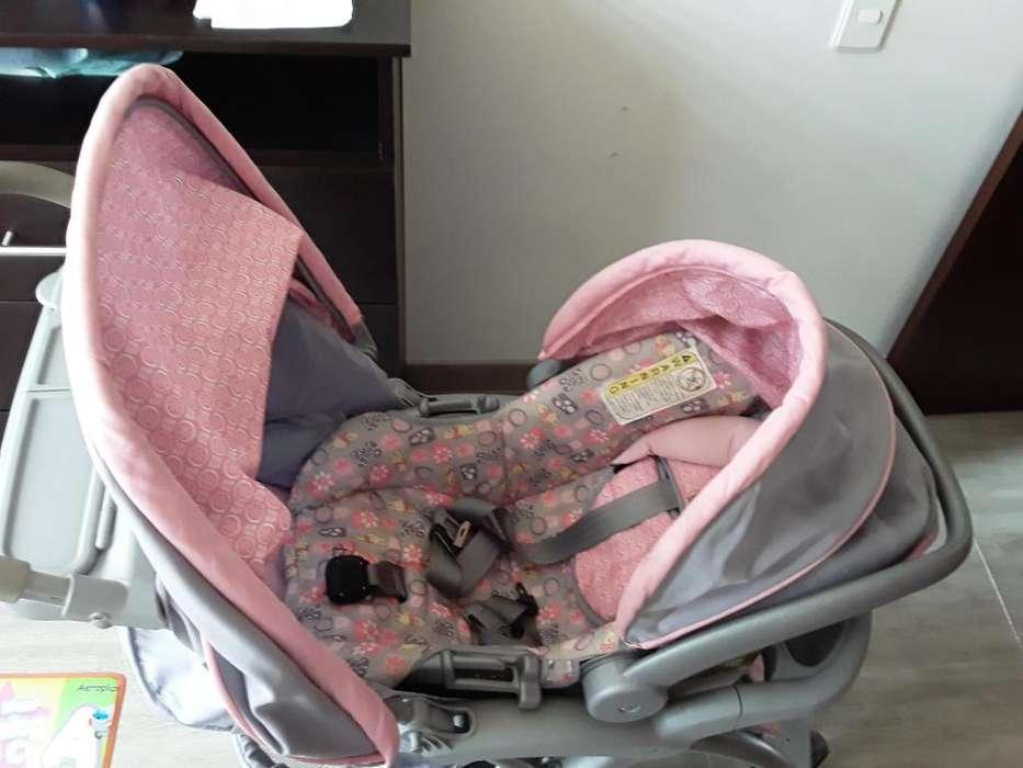 Coche Bebe Niña Safety 1st Con Silla Para Carro Disney