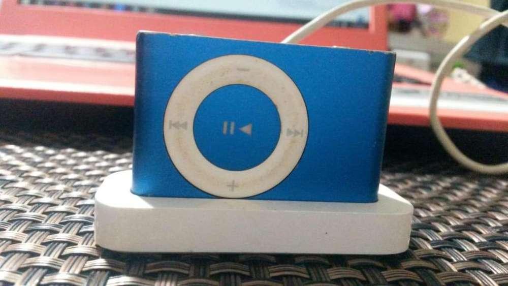 <strong>ipod</strong> Shuffle 2g Apple con Cable de Carga