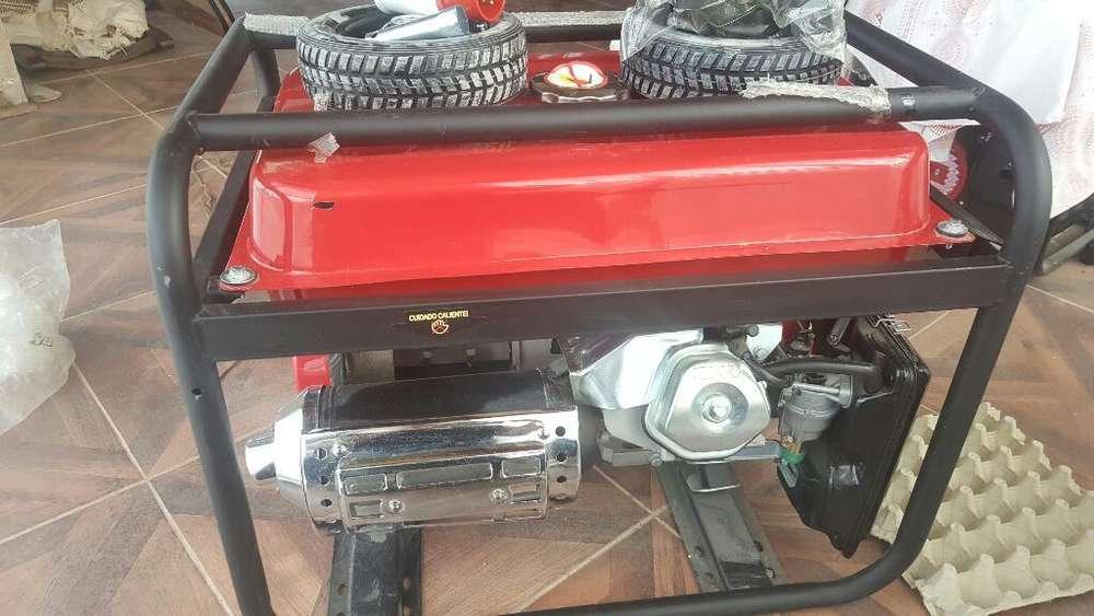Motor Generador Trifasico Y Monofasico