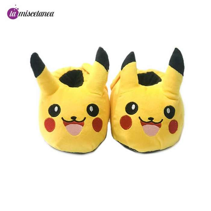 Pantuflas de Pikachu Pokemon