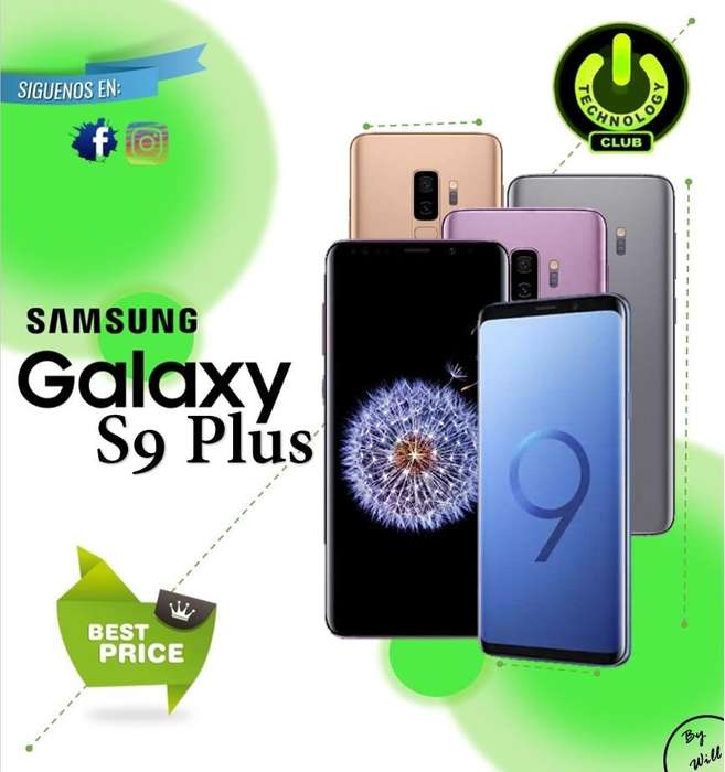 Cyber WOW <strong>samsung</strong> S9 Plus 6 GB Ram Galaxy / Tienda física Centro de Trujillo / Celulares sellados Garantia 12 Meses
