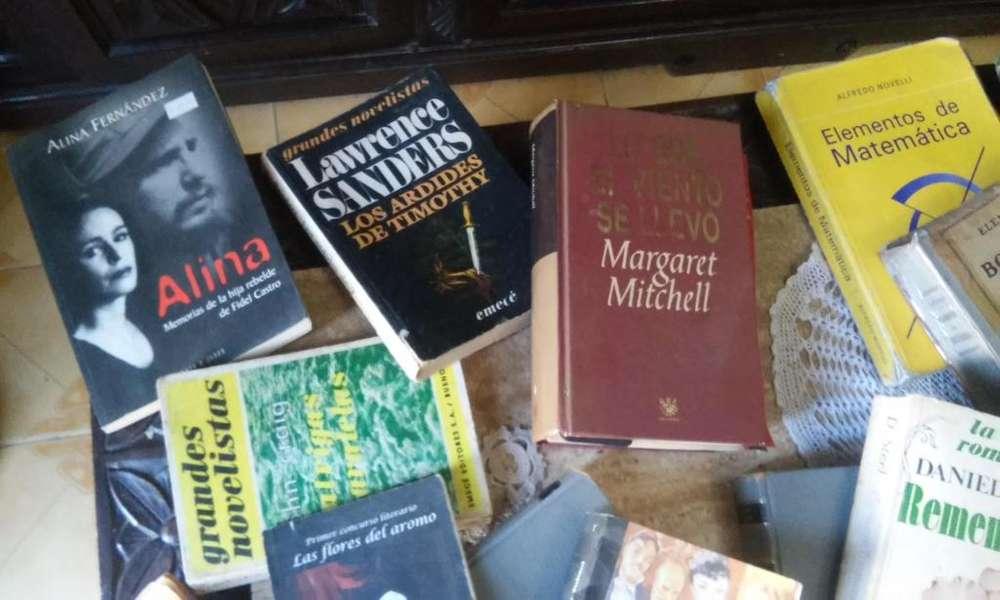 Libros varios .De 20 hasta 300
