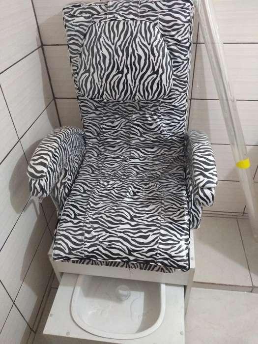 Mueble de Pedicure 2 Piezas