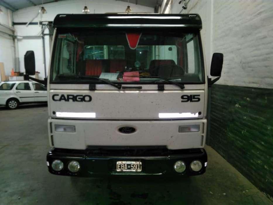 Ford Cargo 915 Grua Semi Pesdo