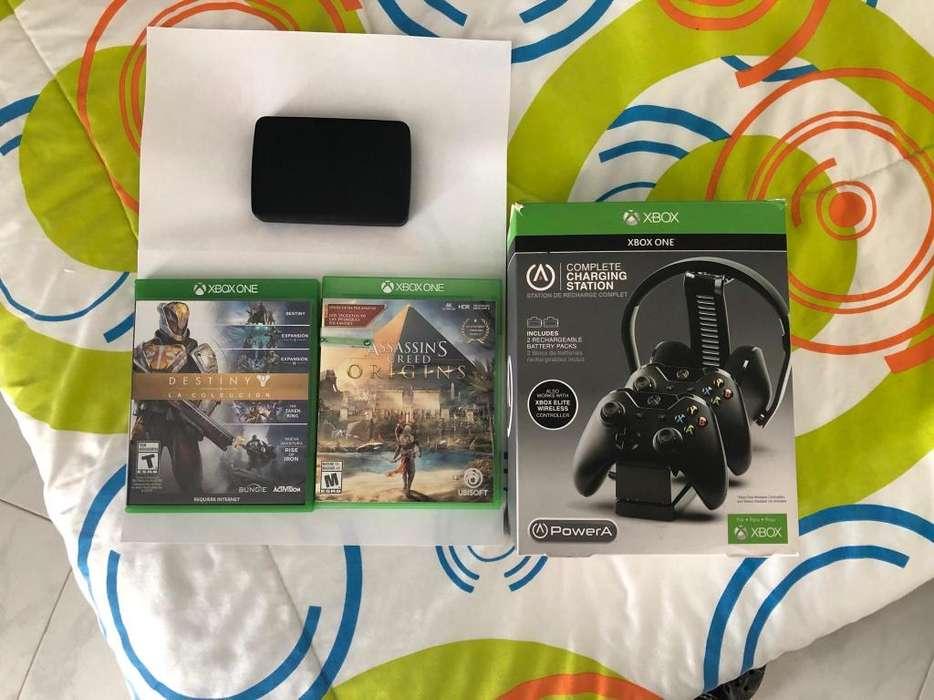 Juegos Xbox One y accesorios